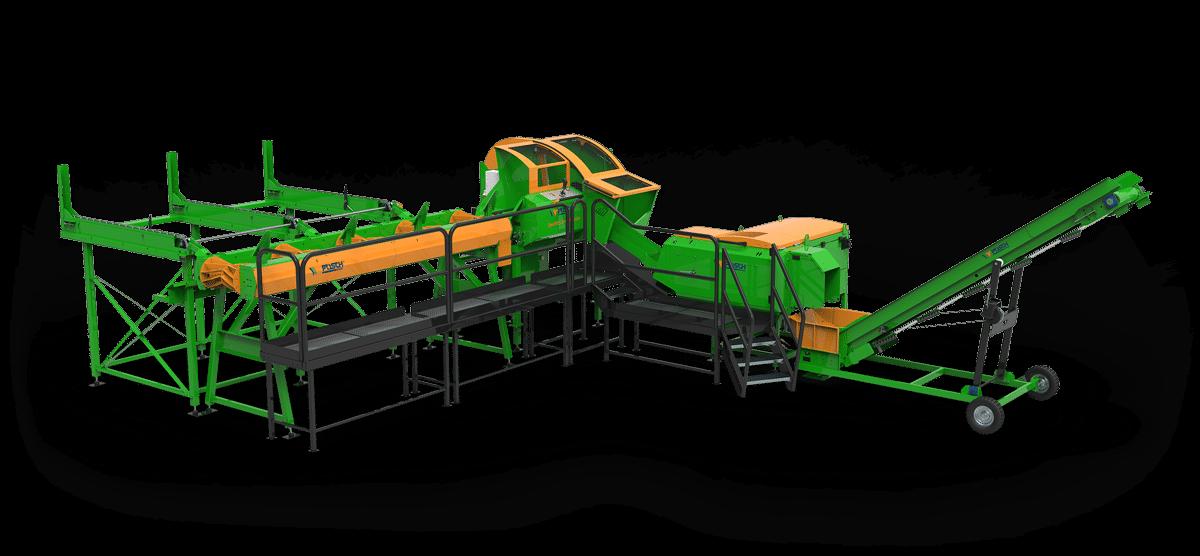 SpaltFix S-415 Vario – Processeur à bois