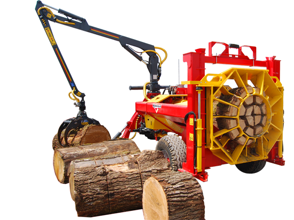 Log splitter for tractor: HORIZONTAL F80