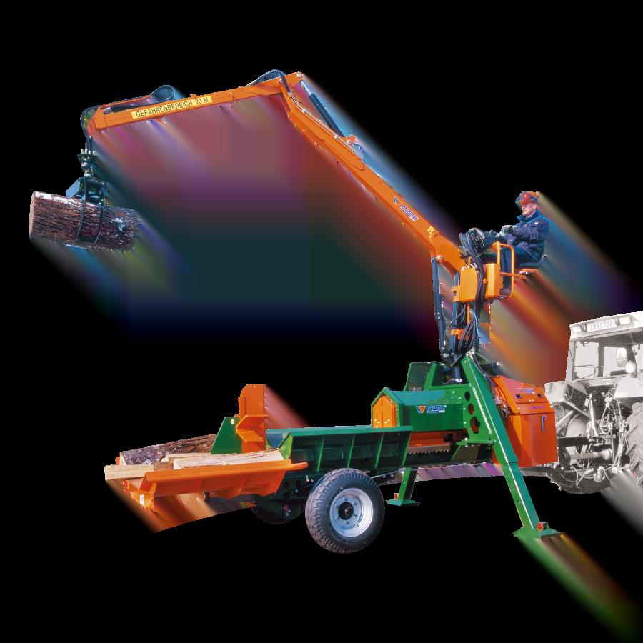 SplitMaster 40 Crane – Wood splitter