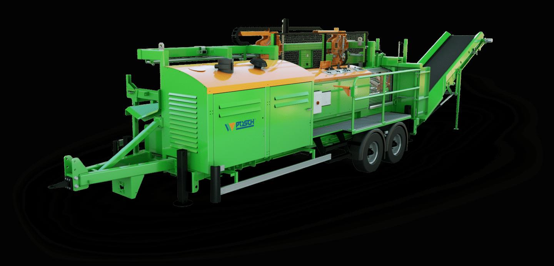 SpaltFix K-550 – Processeur à bois