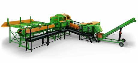 SpaltFix K-650 Vario – Processeur à bois