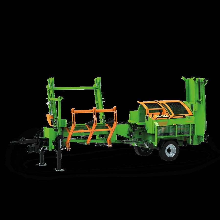 SpaltFix K-415 mobil – Processeur à bois