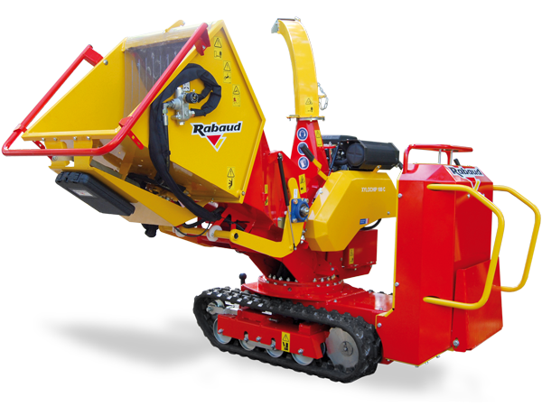Track wood chipper: XYLOCHIP 100C