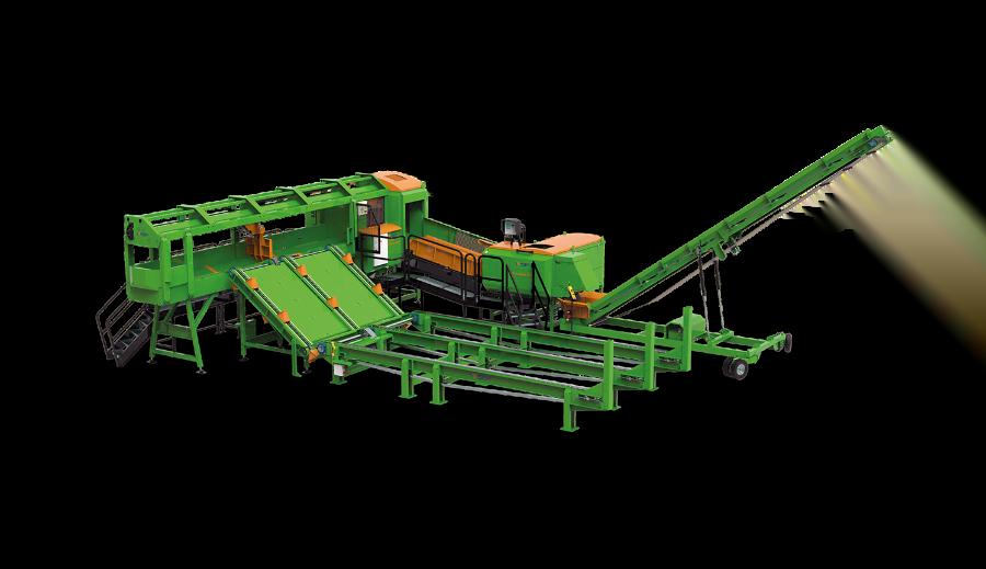 SpaltFix K-660 a-Vario – Processeur à bois