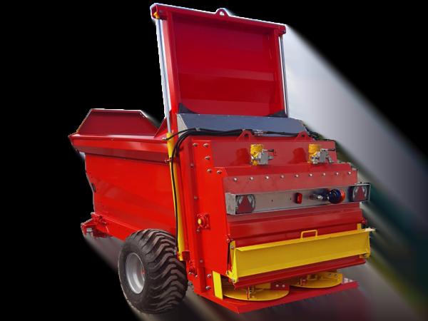 Towed compost spreader: FERTIDIS 3000