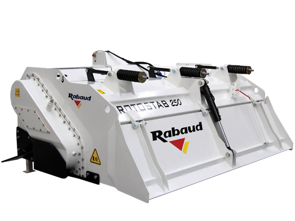3 pointed mounted soil stabilizer: ROTOSTAB 250