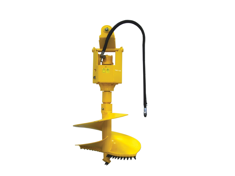 Hydraulic hole diggers with geared motor: TMR