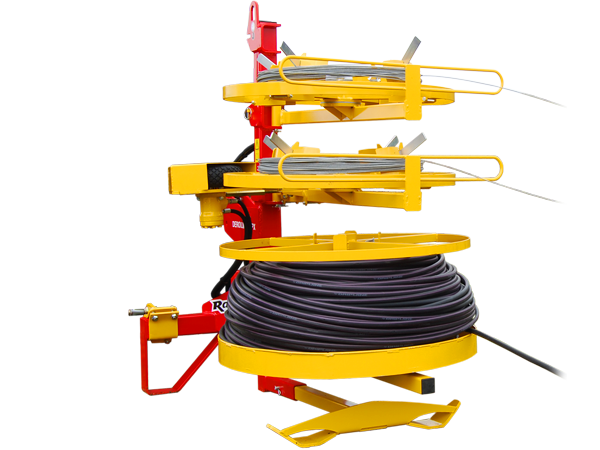 Plain wire unwinding machine: DEROULMATIC