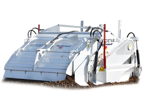 3 pointed mounted soil stabilizer: ROTOSTAB 330