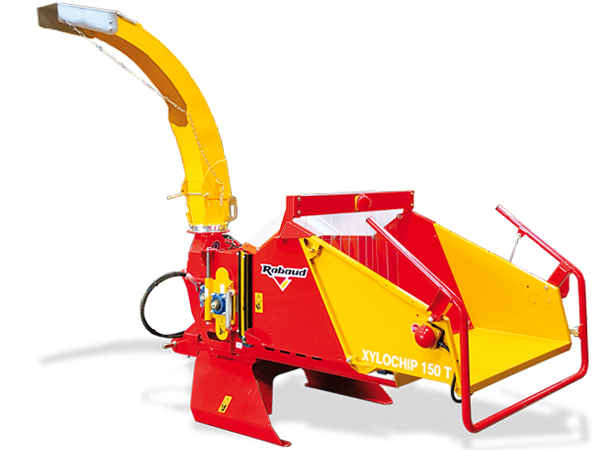 Tractor mounted wood chipper: XYLOCHIP 150T