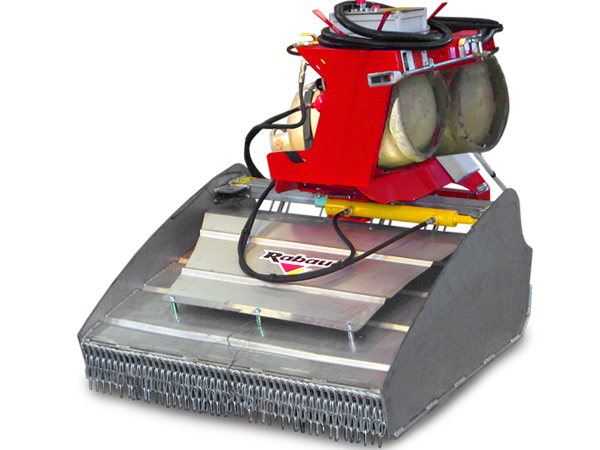 Thermal weeders for tractor HERBIOGAZ COUNTRY