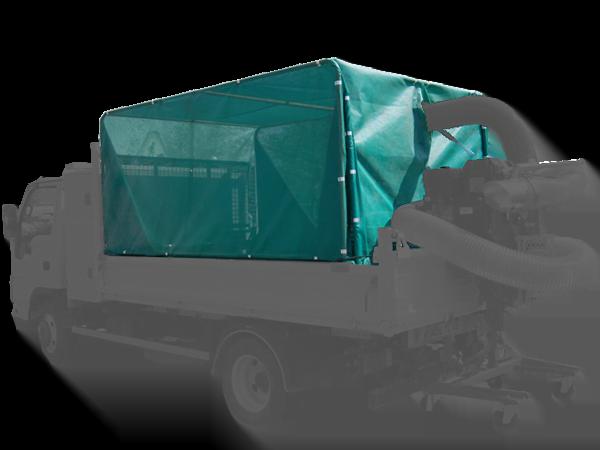 Casing kit for dump truck