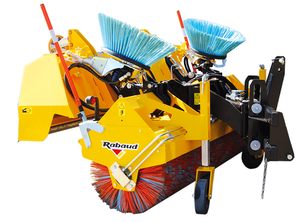 Lining / collecting sweeper: MULTINET