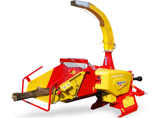 Tractor mounted wood chipper: XYLOCHIP 200T