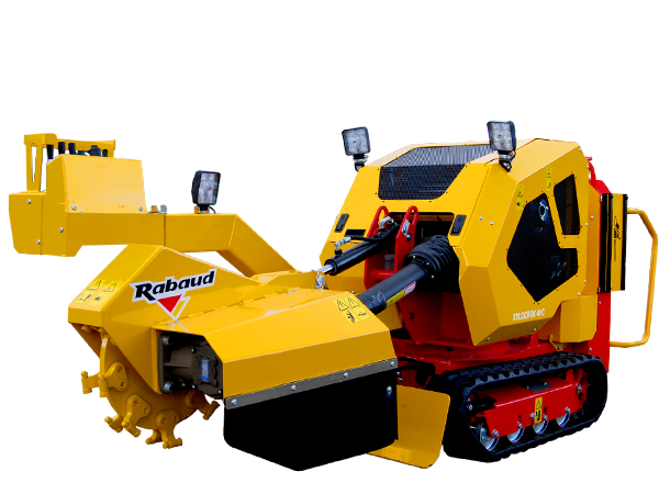 Stump grinder on track: XYLOCROK 40 C