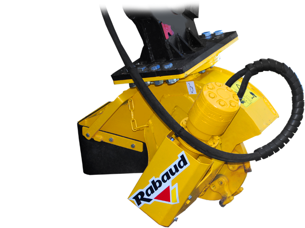Stump grinder for excavators: XYLOCROK PE