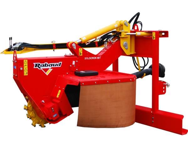 Stump grinder for tractor: XYLOCROK 55 T