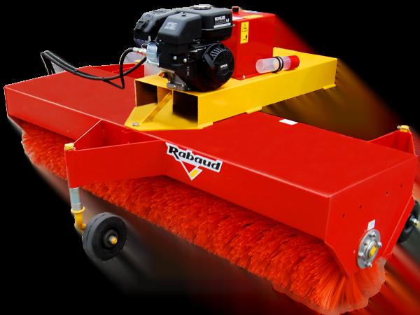 Sweeper for forklift: SUPERNET INDUS