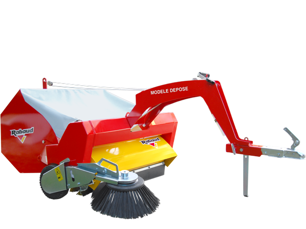 Towed and collecting sweeper: TOWED 1000A