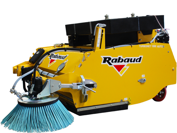 Collecting sweeper: TURBONET AUTONOME