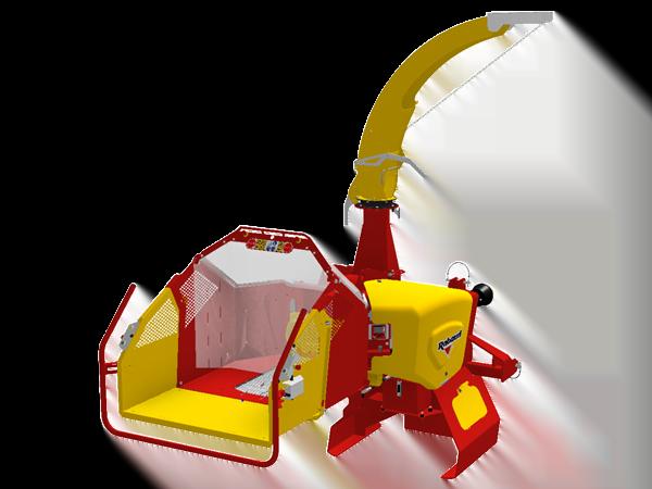 Broyeur de branches sur tracteur: VEGETOR 200T